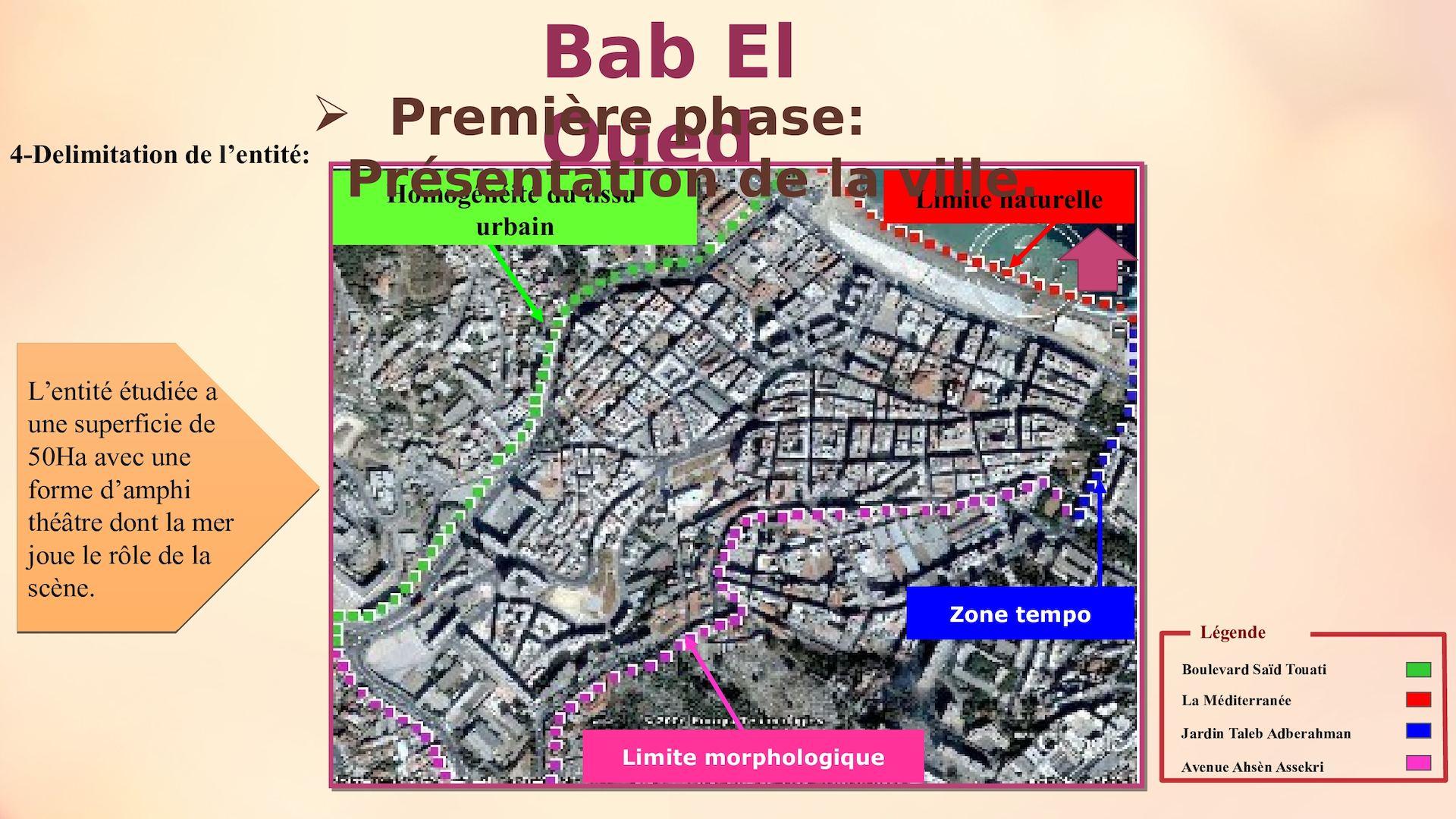 Affichage Bab El Oued - Calameo Downloader avec Delimitation Jardin