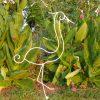 Aigrette En Fer Forgé Pour Décoration De Jardin ( Modèle ... destiné Decoration De Jardin En Fer Forgé