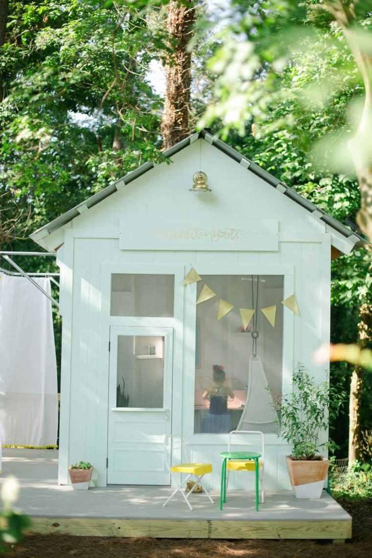 Aire De Jeux Extérieur : 30 Idées De Maison Enfant De Jardin avec Maison De Jardin Pour Enfant