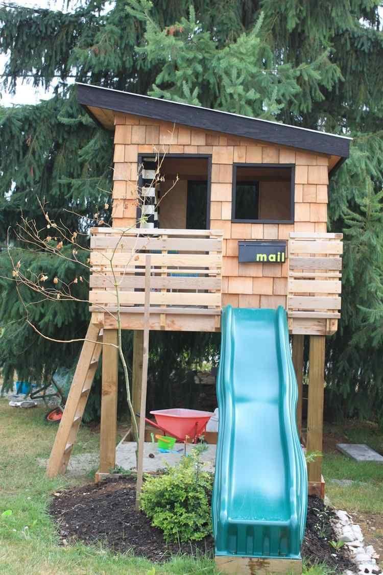 Aire De Jeux Pour Jardin - Idées En Images Pour Valoriser L ... destiné Jeux De Jardin En Bois