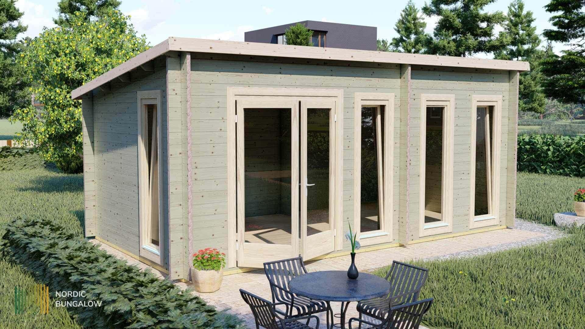 Albert 44 intérieur Abri De Jardin Habitable