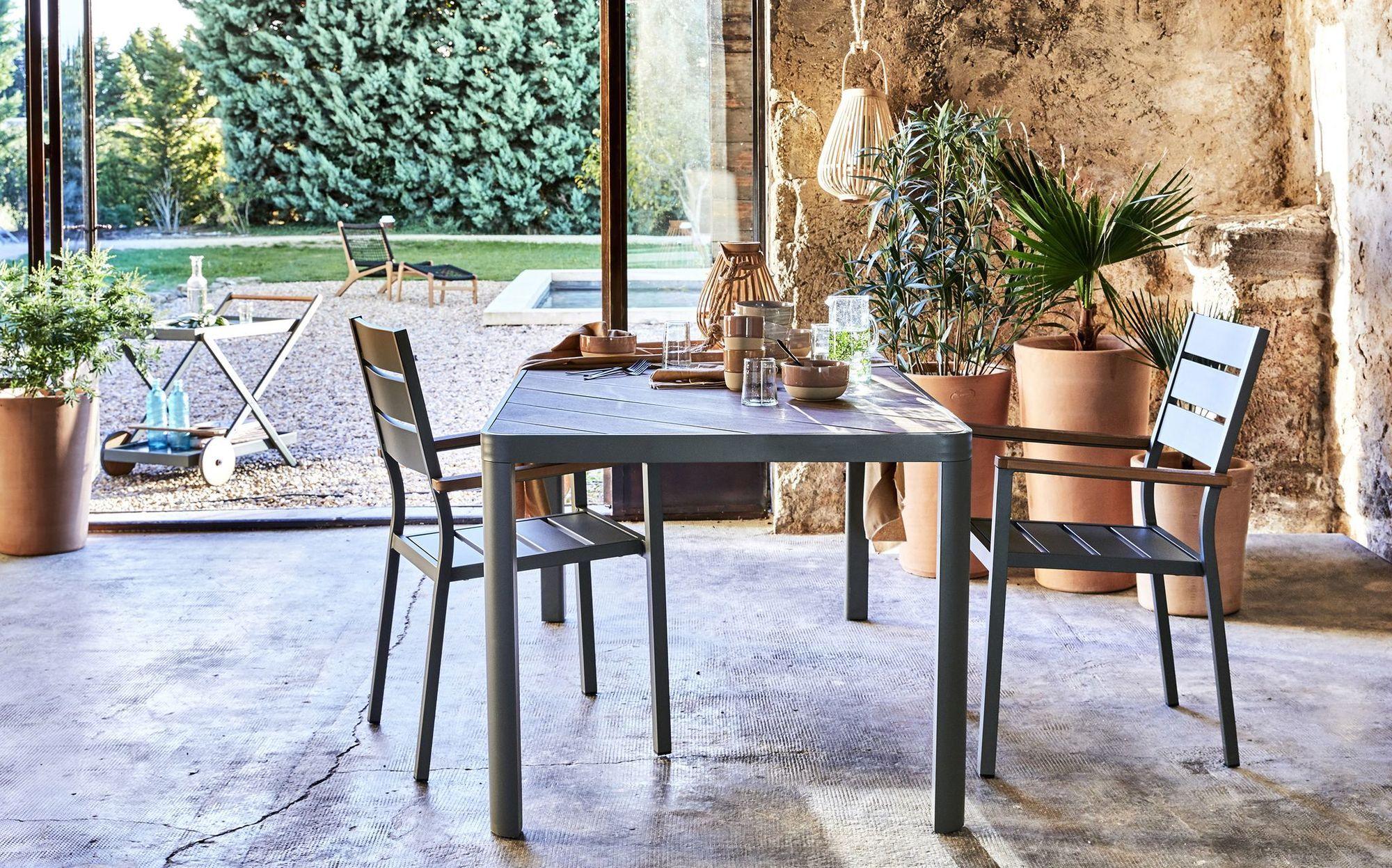 Alinea Nouvelle Collection Meubles Et Décoration Printemps ... tout Chaise Jardin Alinea