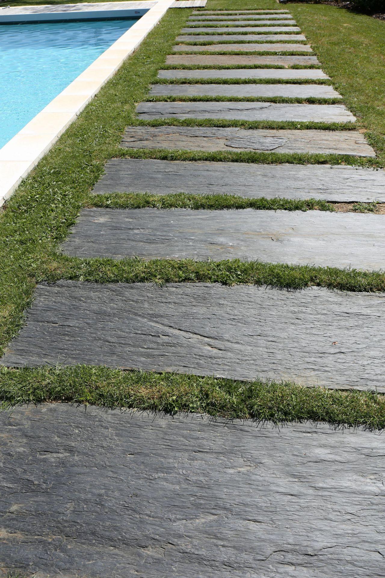 Allée | Rebeyrol : Aménagement Et Entretien Des Jardins ... concernant Allée De Jardin En Béton