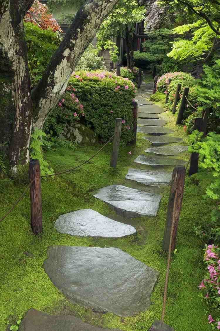 Allées De Jardin Originales En 48 Idées Inspirantes concernant Idée Allée De Jardin