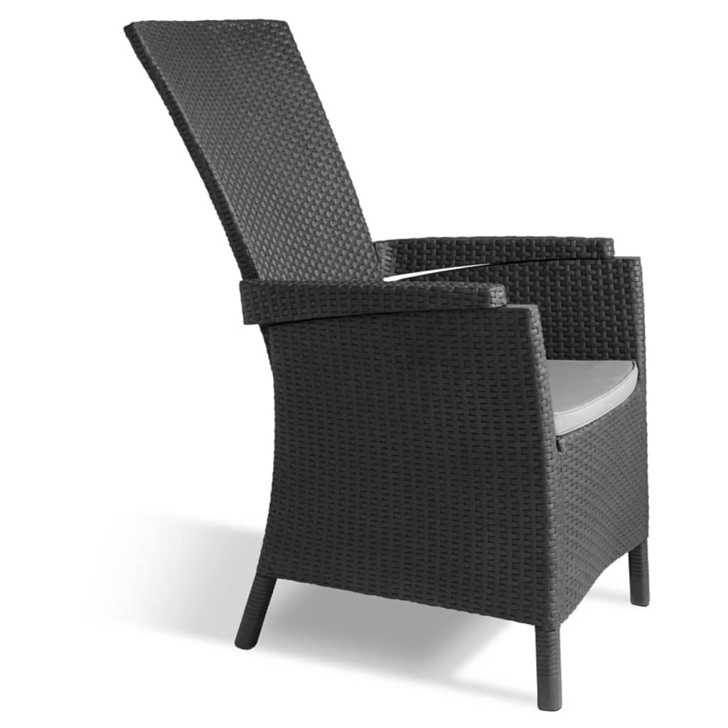 Allibert Chaise Inclinable De Jardin Terrasse Brasilia 2 ... tout Chaise De Jardin Allibert