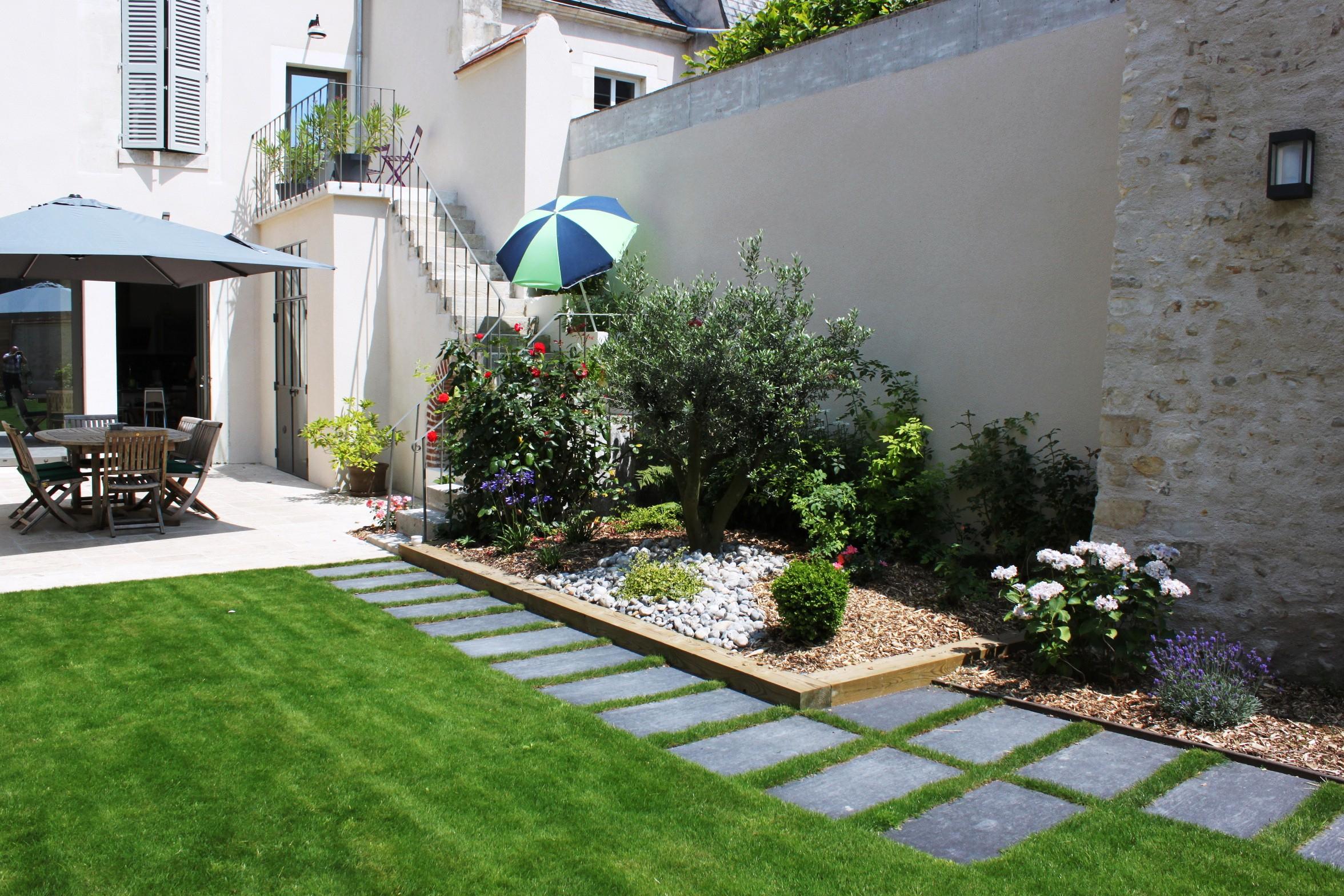 Amã©Nager Un Petit Jardin De 20M2 Conception - Idees ... serapportantà Aménagement D Un Petit Jardin De Ville
