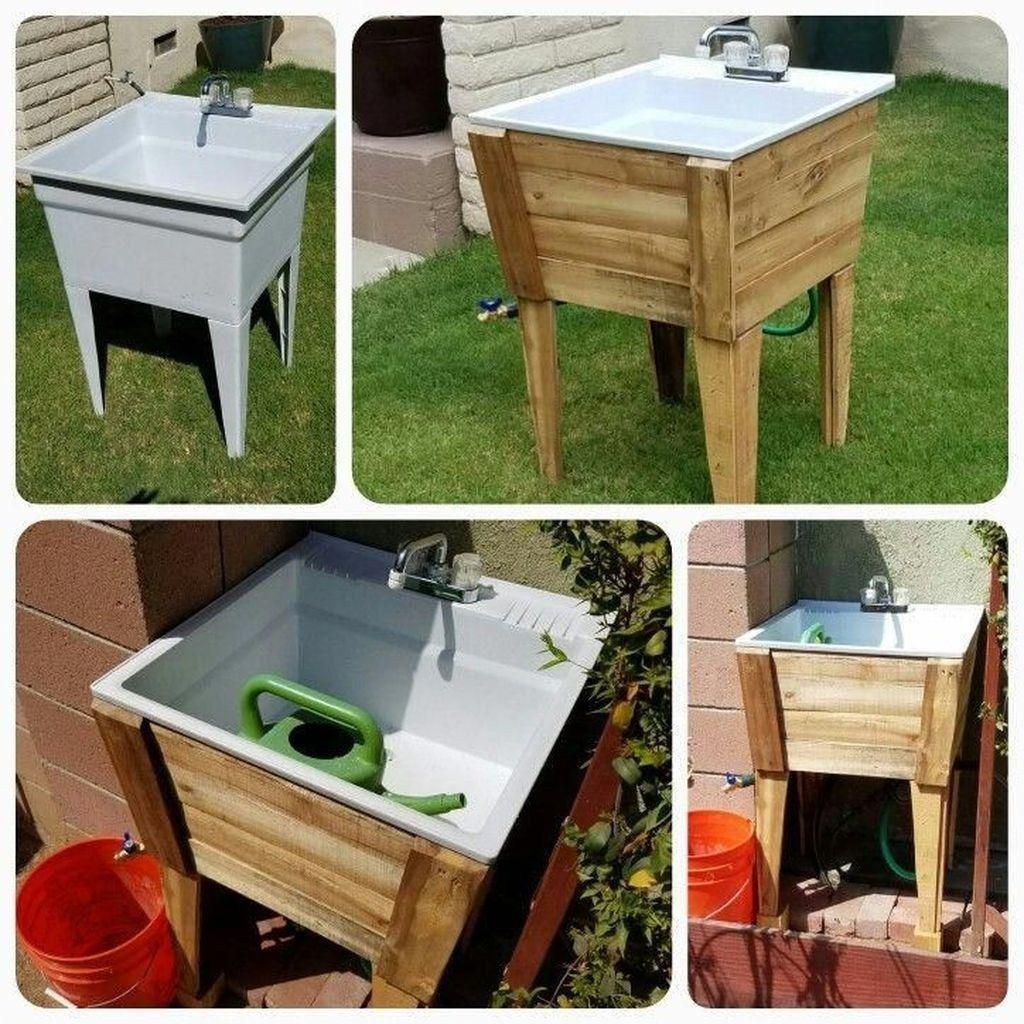 Amazing Sink Design Ideas For Outdoor 13 - Trendehouzz ... pour Évier Extérieur Jardin