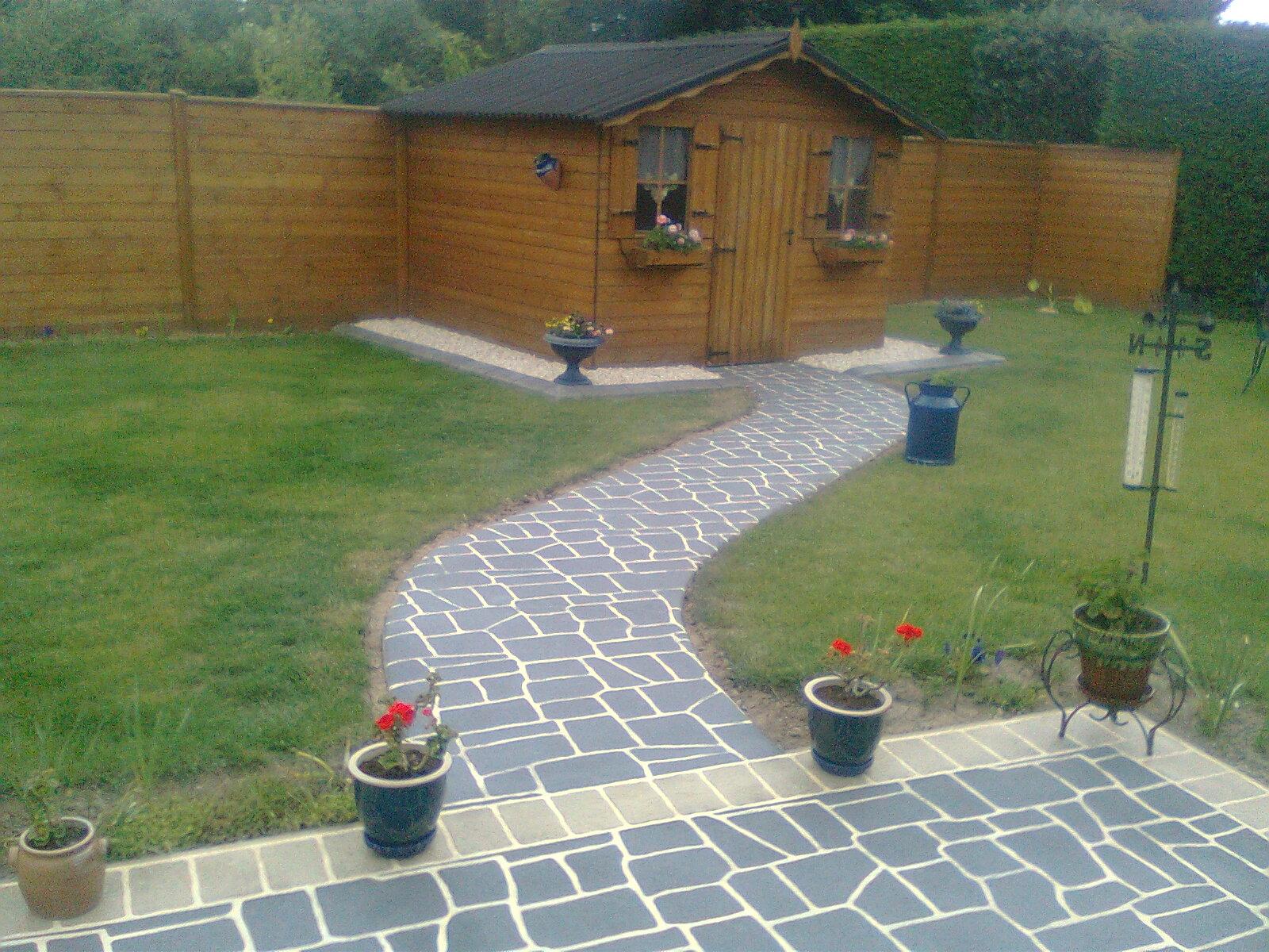 Aménagement De Jardin Et D'abri De Jardin - Jardin Mobilier serapportantà Amenagement Chalet De Jardin