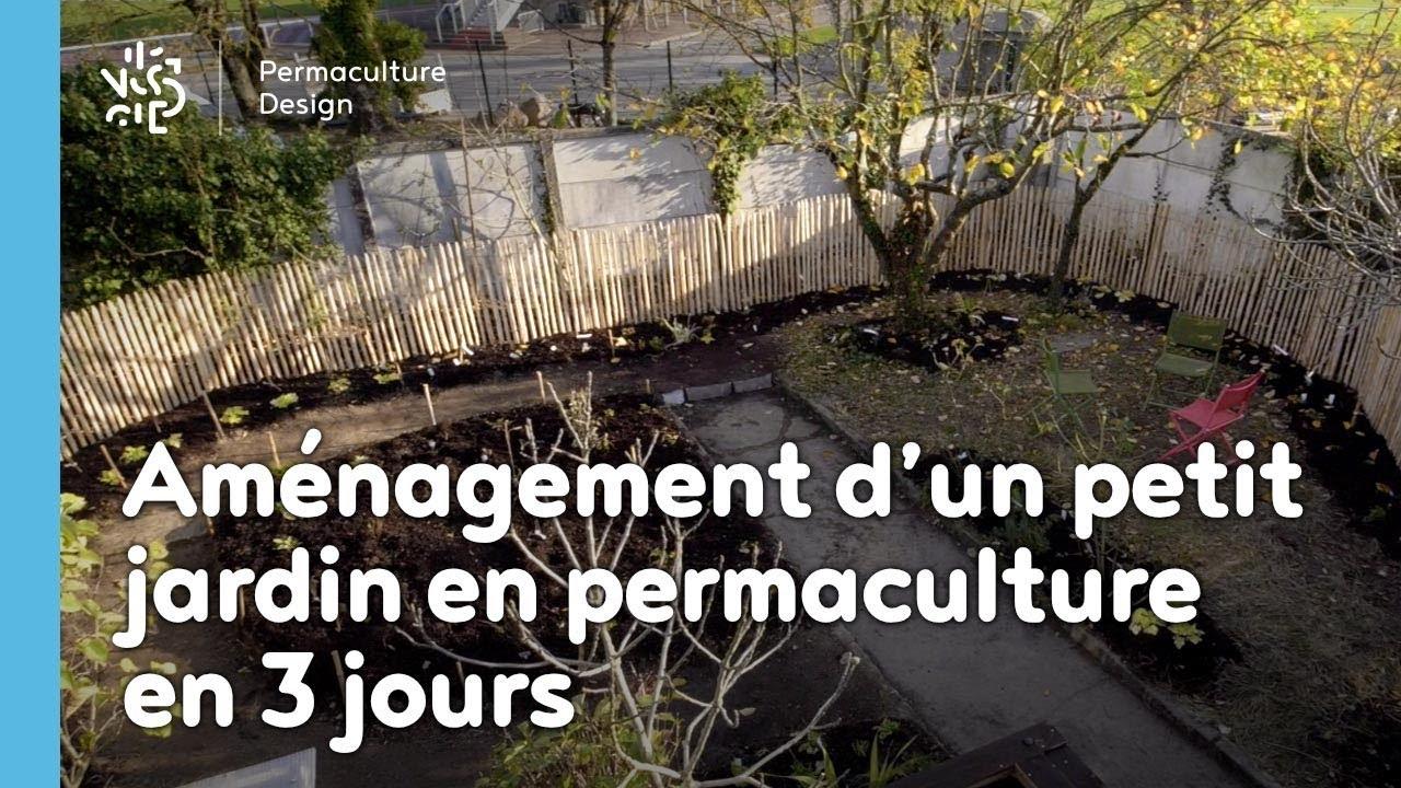 Aménagement D'Un Petit Jardin En Permaculture En 3 Jours dedans Aménagement D Un Petit Jardin De Ville