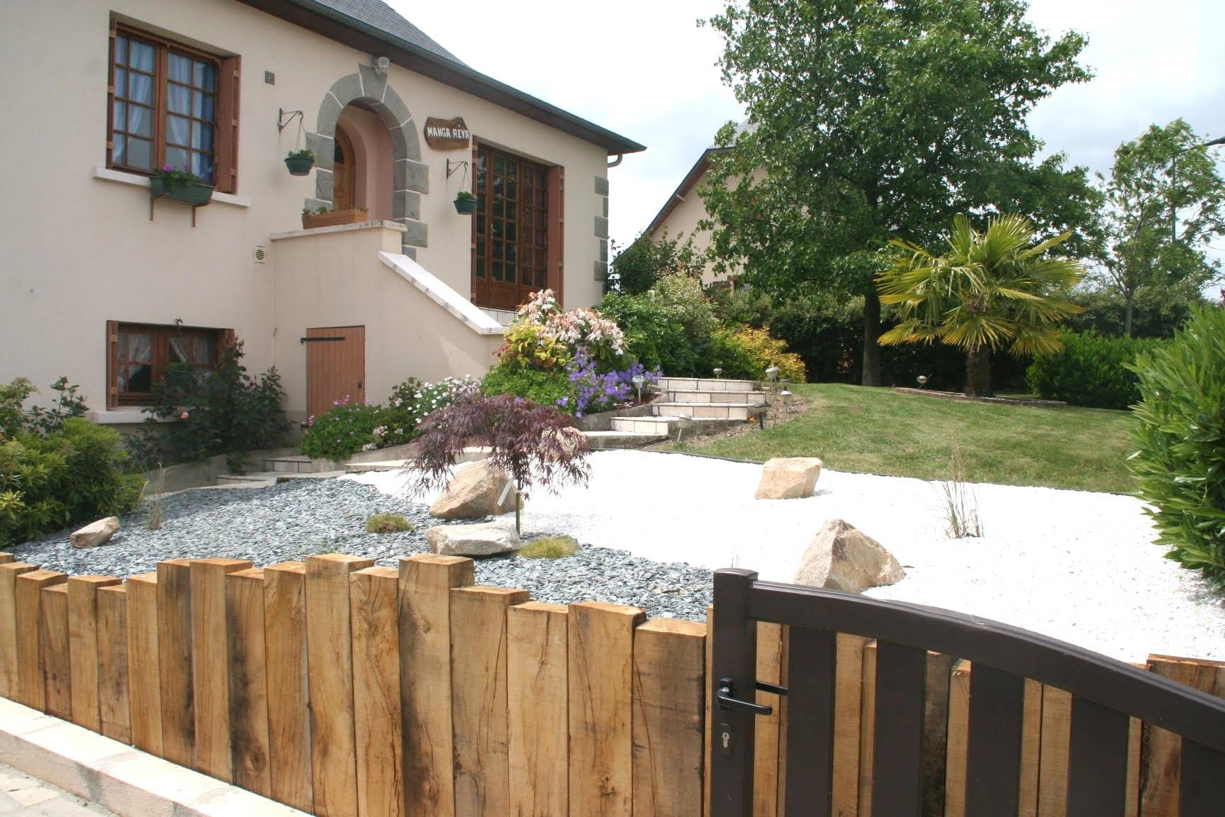 Amenagement Escalier Exterieur Maison Conception - Idees ... pour Comment Aménager Son Jardin Devant La Maison