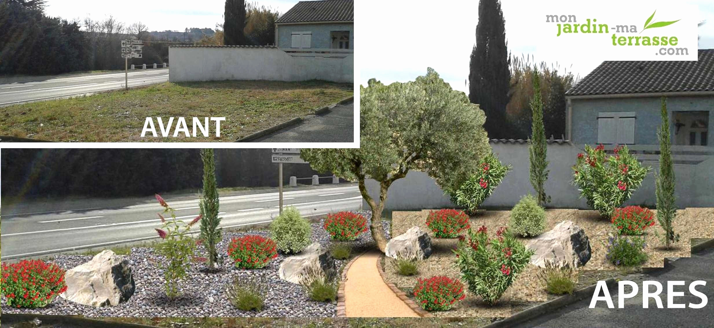 Aménagement Extérieur Devant Maison Des Idées - Idees ... à Idee Amenagement Jardin Devant Maison