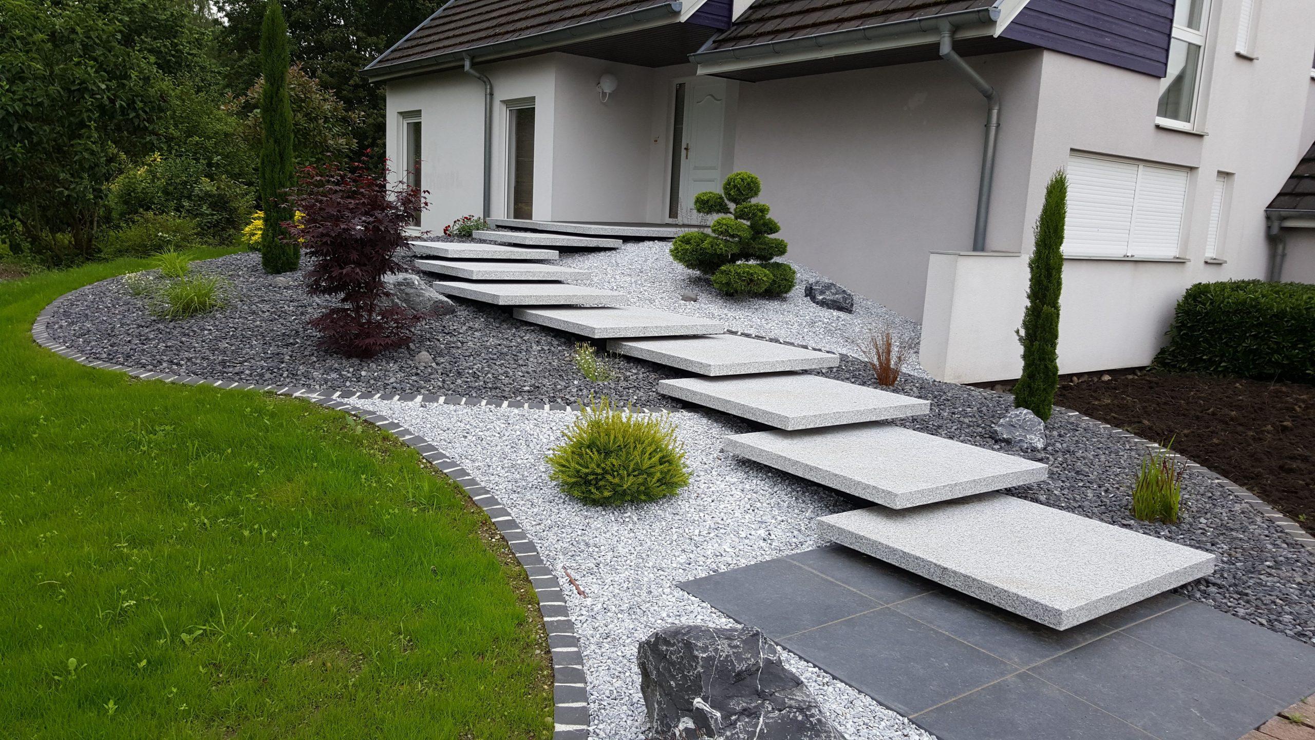 Amenagement Exterieur Maison Terrain En Pente Cuisine Entree ... avec Logiciel Creation Jardin