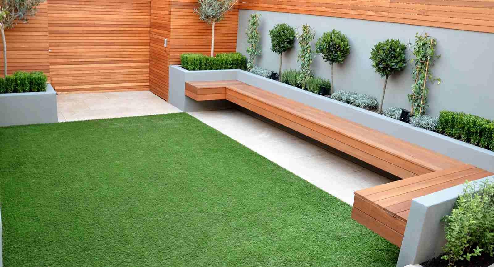 Aménagement Jardin Contemporain En Style Minimaliste encequiconcerne Am2Nagement Jardin