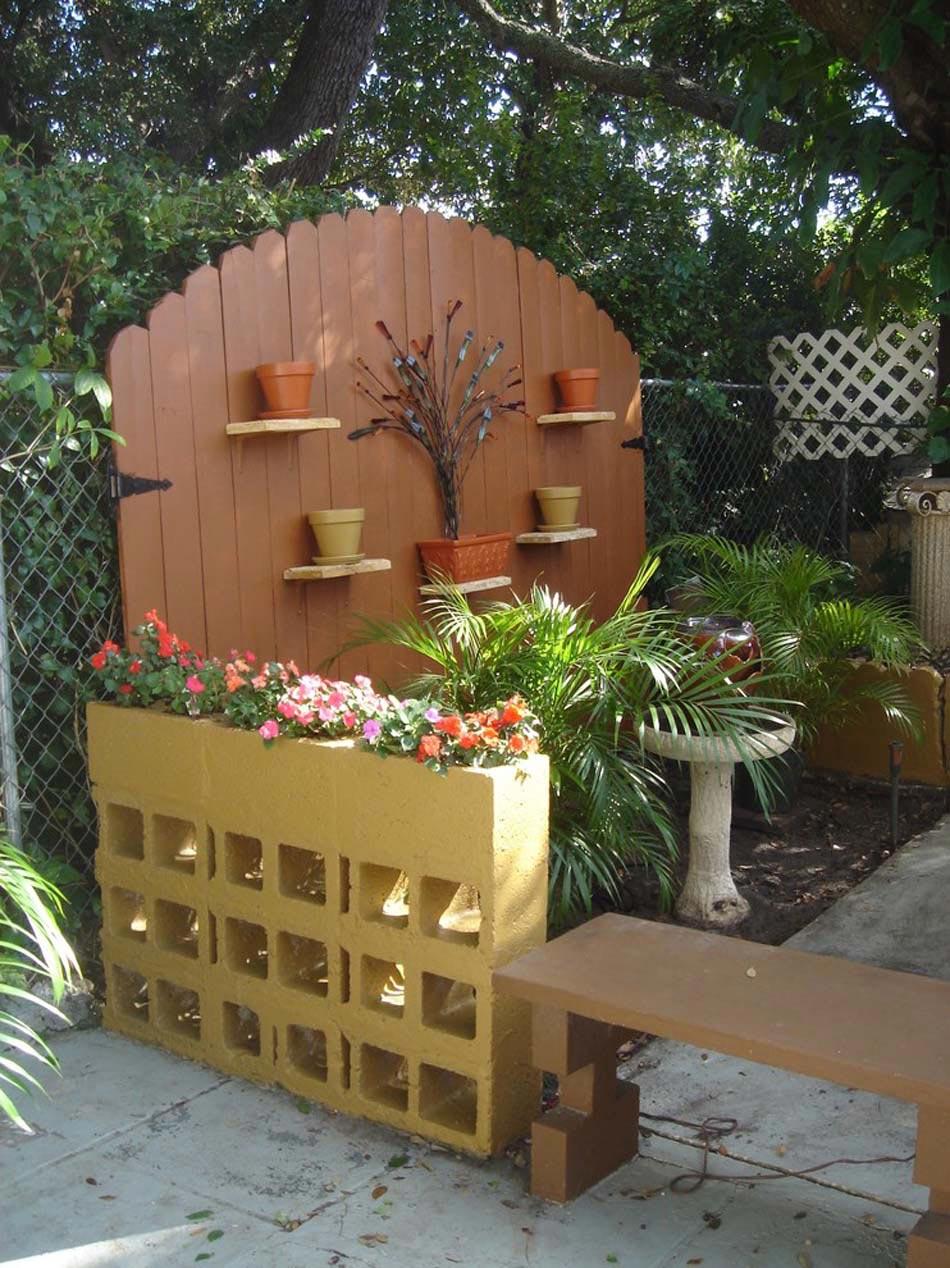 Aménagement Jardin Créatif Et Original À L'aide Des ... à Amenagement Mur Jardin