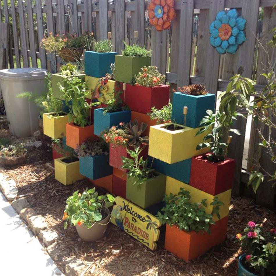 Aménagement Jardin Créatif Et Original À L'aide Des ... intérieur Decoration De Jardin A Faire Soi Meme