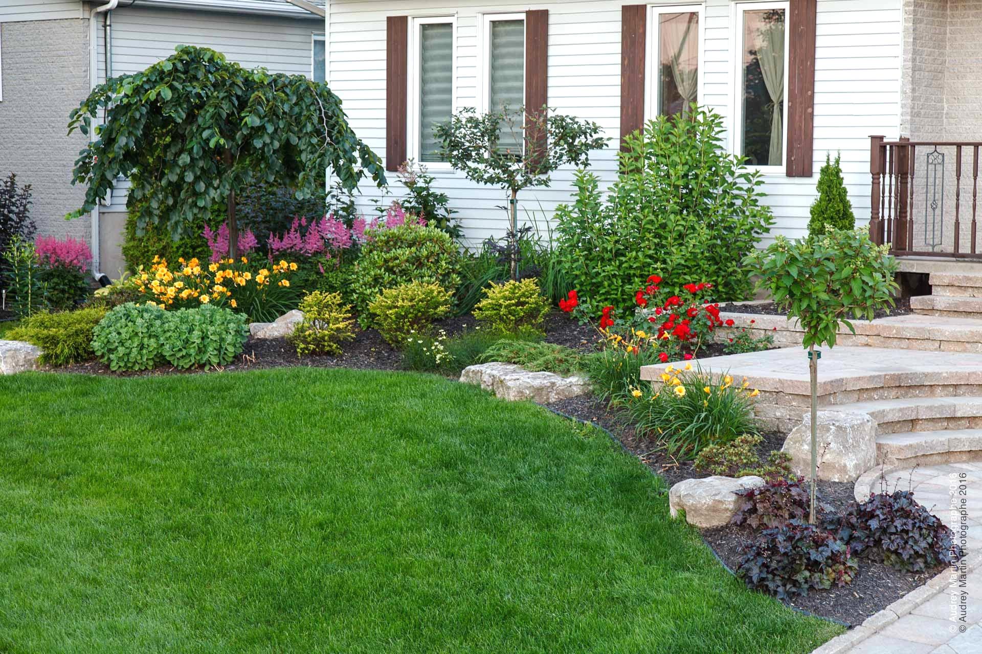 Aménagement Jardin Devant Maison Des Idées - Idees ... encequiconcerne Idée Allée De Jardin