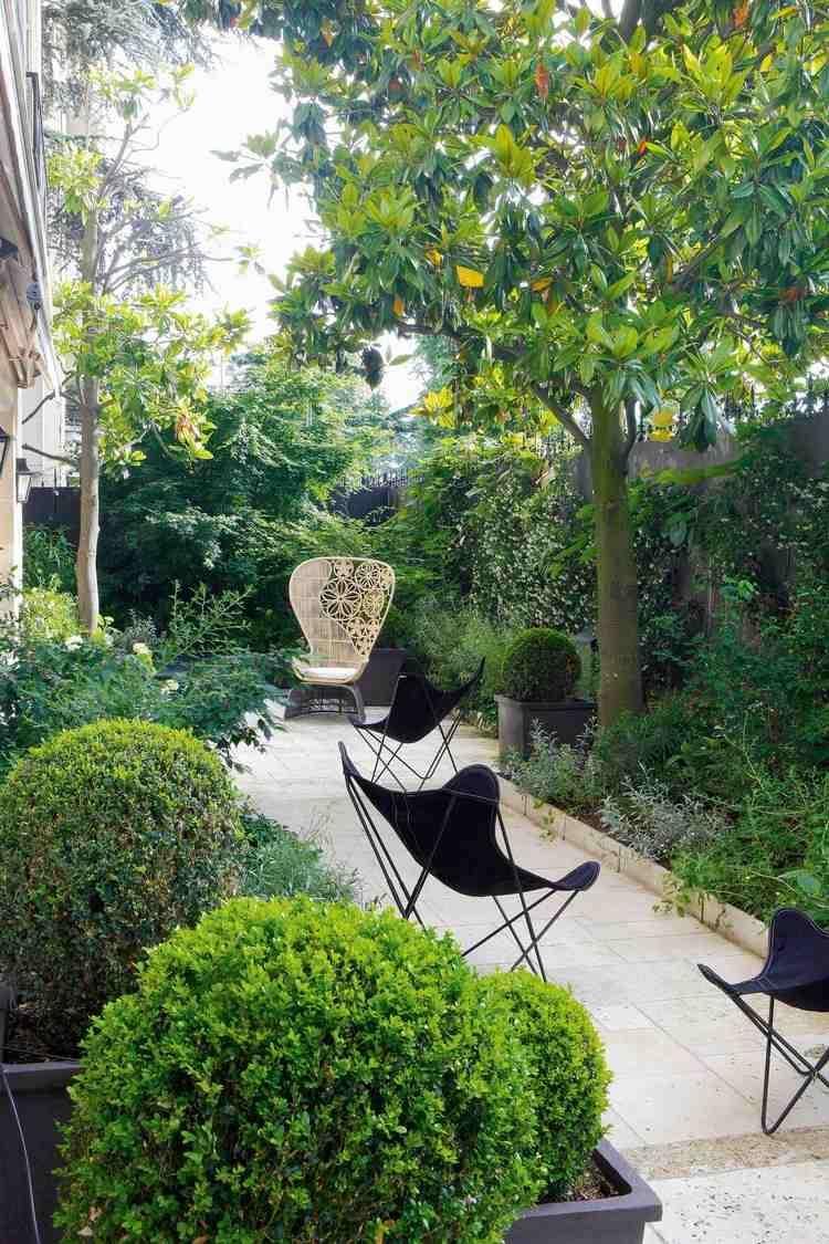 Aménagement Jardin Extérieur Et Idées Déco Cosy En 40 Photos ... destiné Aménagement D Un Petit Jardin De Ville