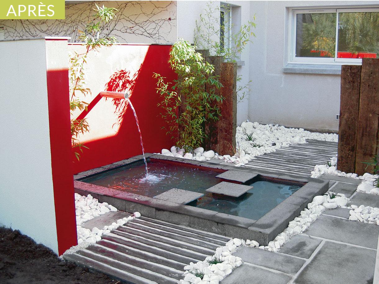 Amenagement Jardin Zen Avec Bassin | Détente Jardin concernant Petit Jardin Avec Bassin