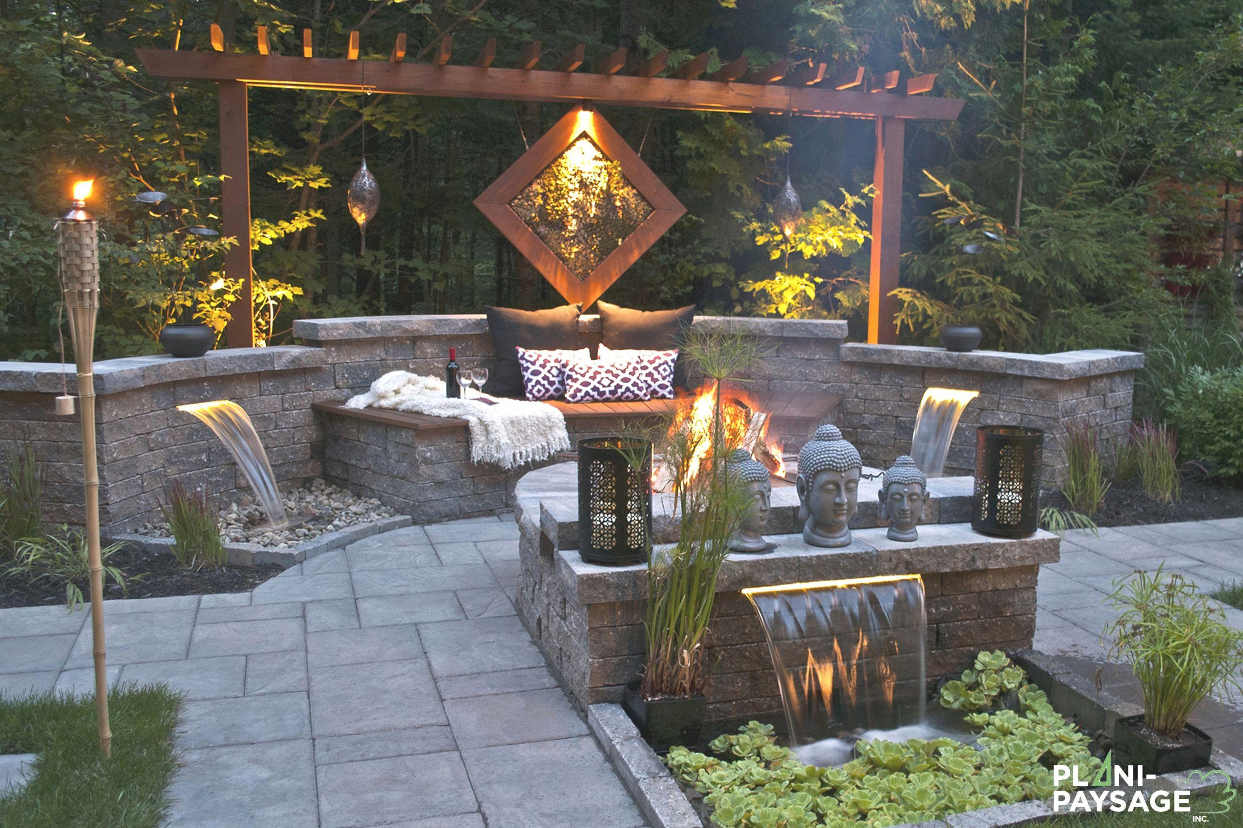 Amenagement Jardin Zen Creations | Idees Conception Jardin avec Idee Amenagement Jardin Zen