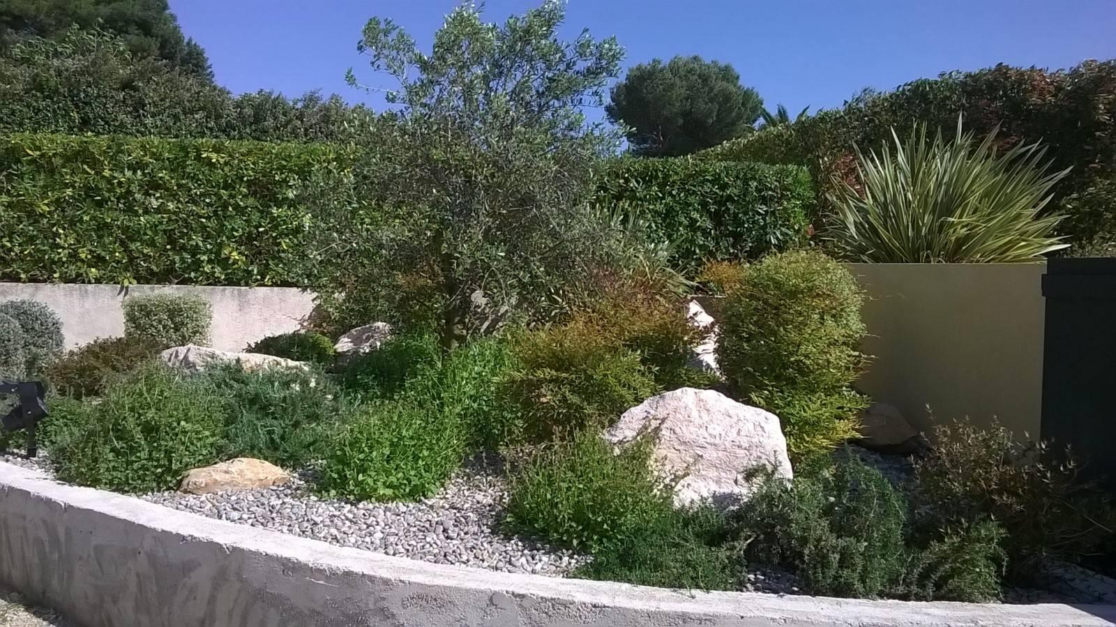 Aménagement Massif Mediterranéen Rognac 13340 - Amenagement ... tout Exemple De Jardin Méditerranéen