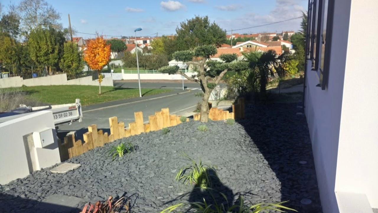 Aménagement Paysagé Devant Maison - tout Idee Amenagement Jardin Devant Maison