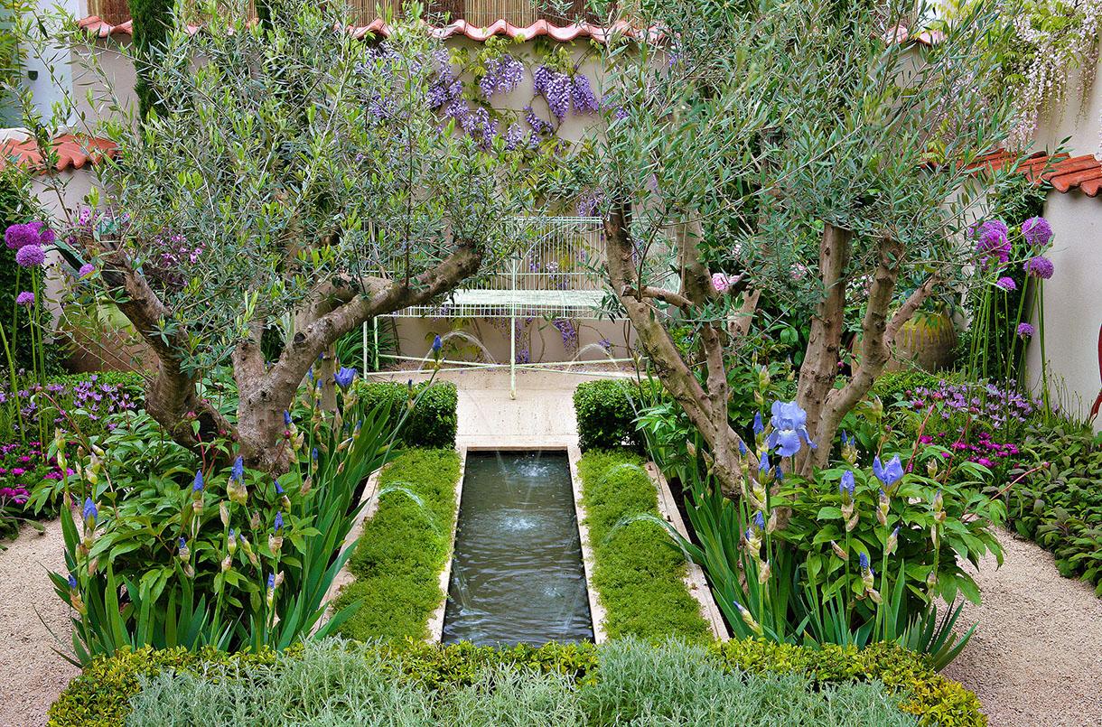 Amenagement Petit Jardin, Aménager Un Petit Jardin | Détente ... destiné Aménagement De Petit Jardin