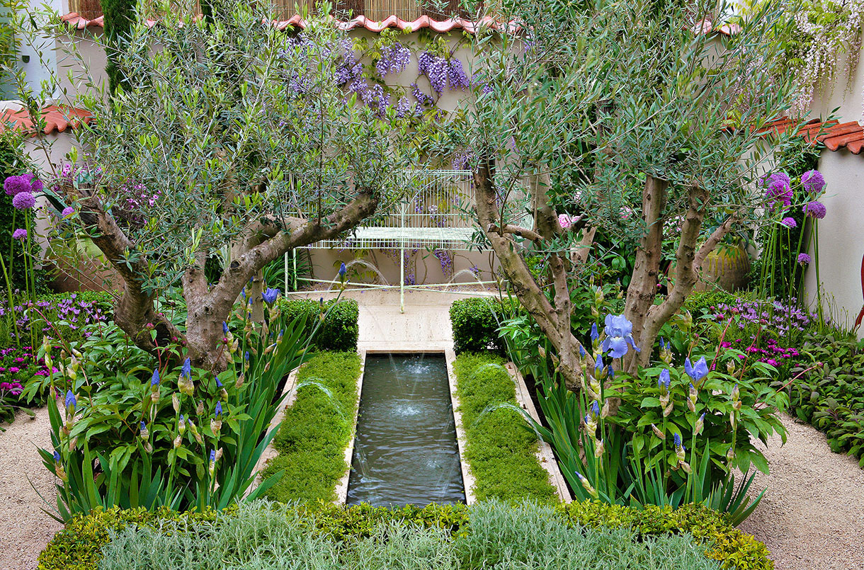 Amenagement Petit Jardin, Aménager Un Petit Jardin | Détente ... serapportantà Amenagement Petit Jardin Mediterraneen