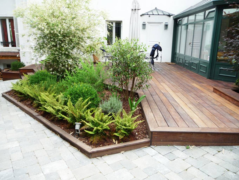 Amenagement Petit Jardin Avec Terrasse Jardin Amenagement ... à Aménagement De Petit Jardin