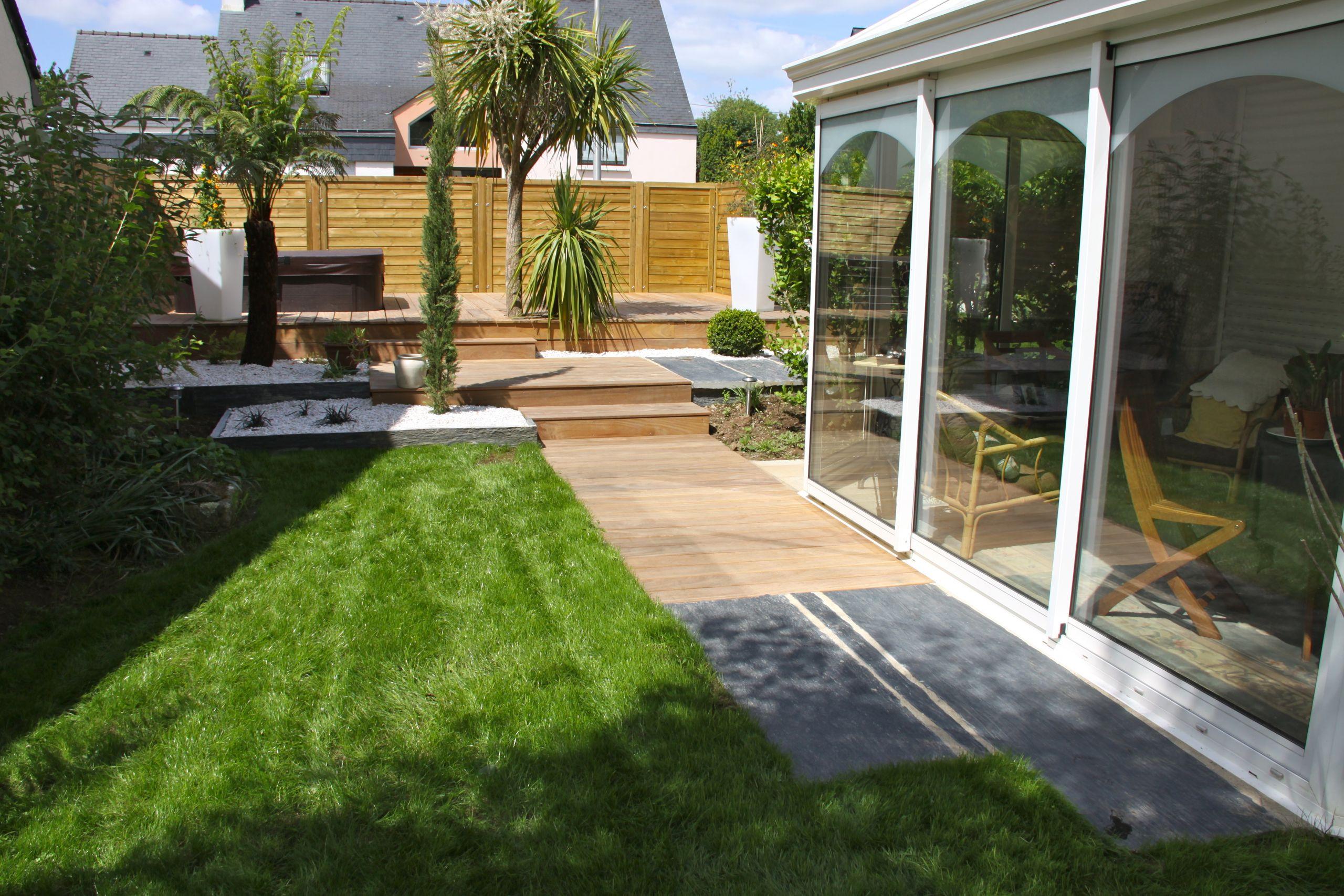 Amenagement Petit Jardin Avec Terrasse Terrasse Jardin – Ma ... pour Terrase De Jardin