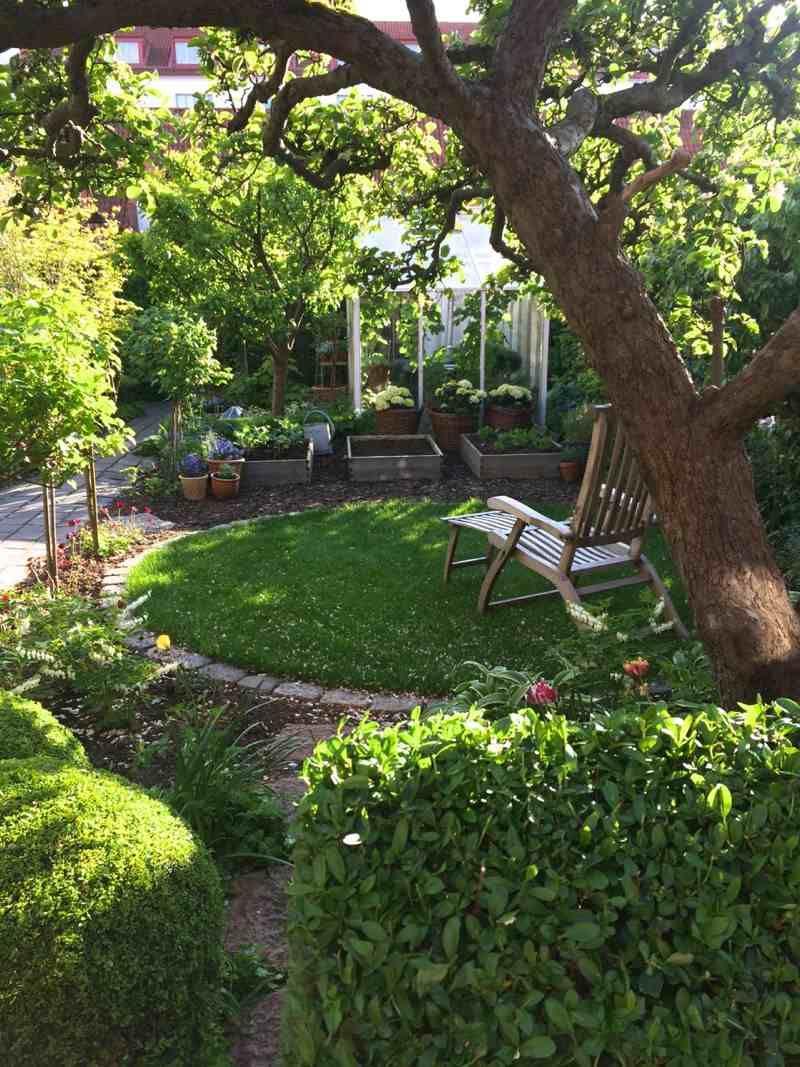Aménagement Petit Jardin Dans L'arrière-Cour–Idées Modernes ... avec Aménagement De Petit Jardin