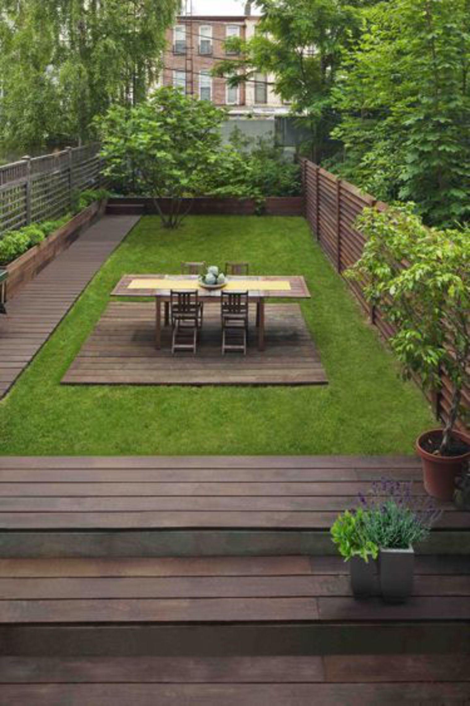 Aménagement Petit Jardin De Ville : 12 Idées Sur Pinterest ... avec Comment Aménager Un Petit Jardin