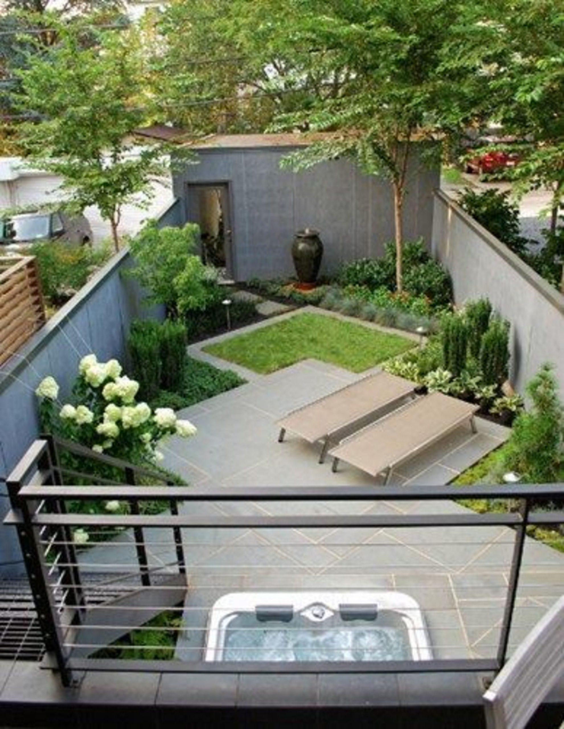Aménagement Petit Jardin De Ville : 12 Idées Sur Pinterest ... pour Aménagement D Un Petit Jardin De Ville
