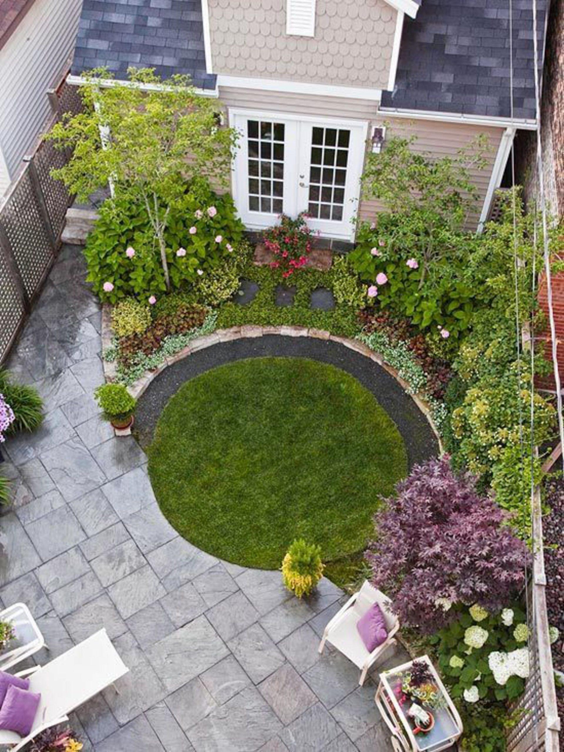 Aménagement Petit Jardin De Ville : 12 Idées Sur Pinterest ... serapportantà Aménagement De Petit Jardin