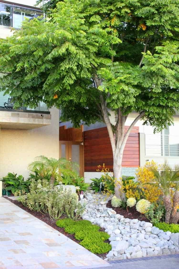 Aménagement Petit Jardin Devant La Maison – Quels Arbres ... pour Comment Aménager Son Jardin Devant La Maison
