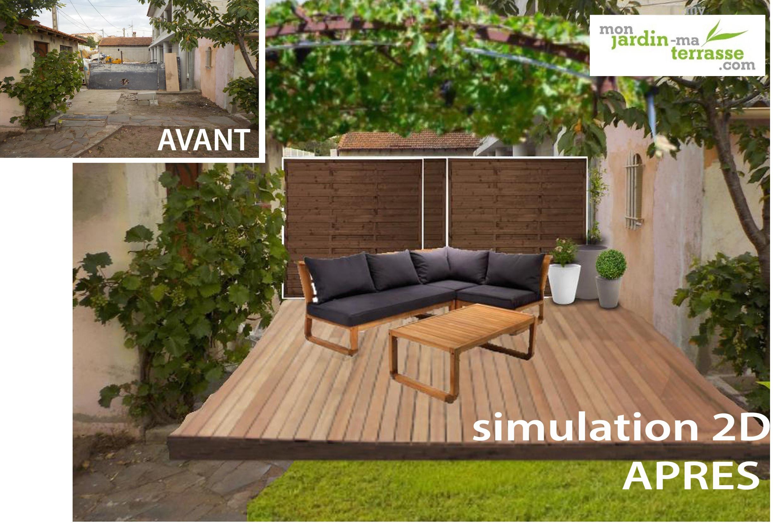 Amenagement Petit Jardin Pas Cher Des Idées - Idees ... avec Aménagement Jardin Pas Cher