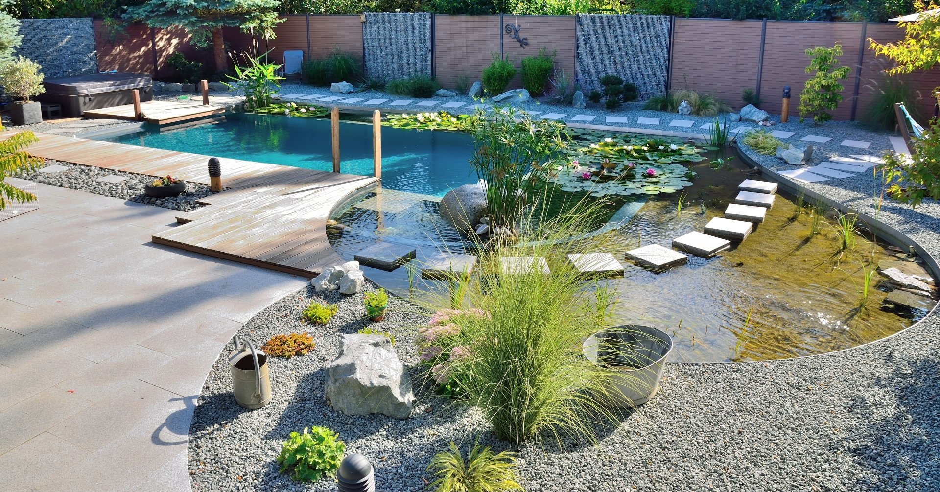 Aménagements Extérieurs - Définition Simple Des Aménagements ... pour Exemple D Aménagement De Jardin