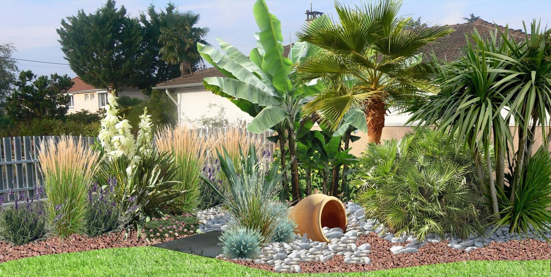 Aménager Un Jardin De Galets dedans Modeles De Rocailles Jardin