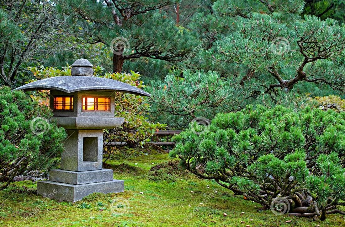 Aménager Un Jardin Zen - Décoration D'intérieur, Coaching ... avec Lanterne Pierre Jardin Japonais