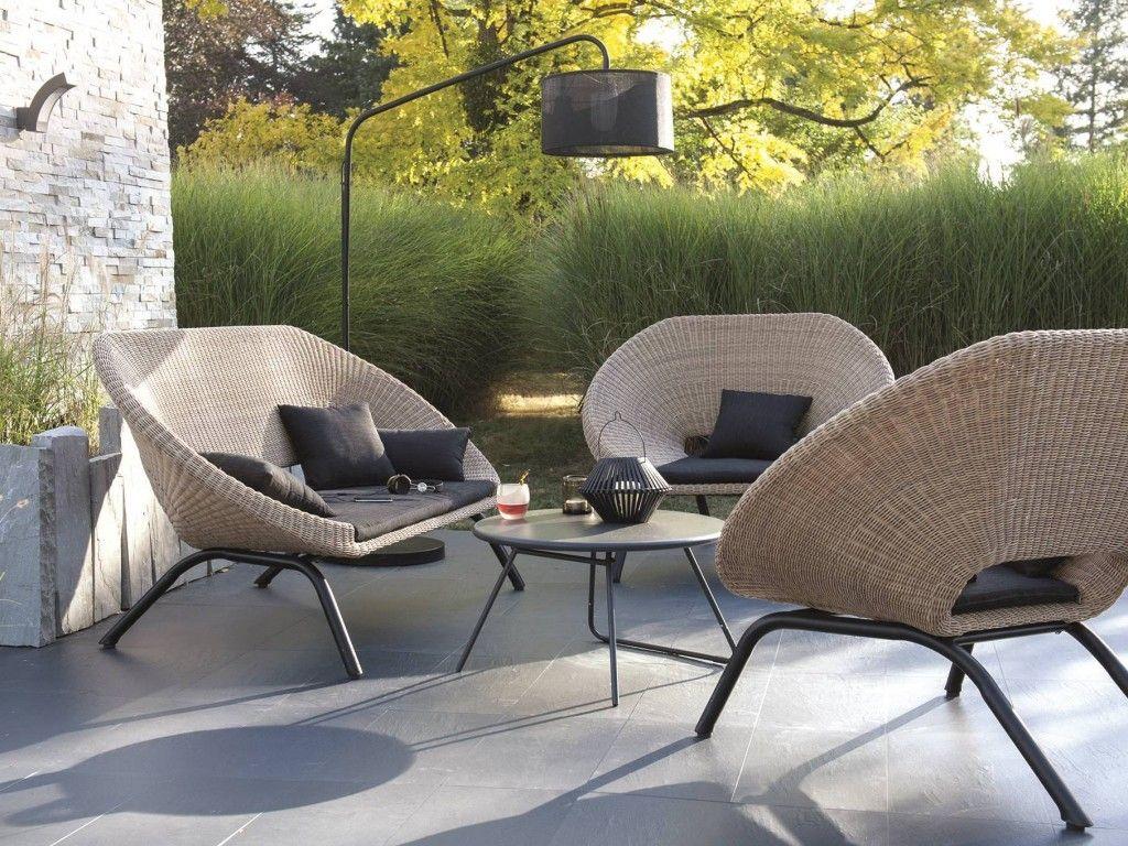 Aménager Un Salon De Jardin Chic À Prix Doux | Agrément De ... pour Meubles De Jardin Castorama