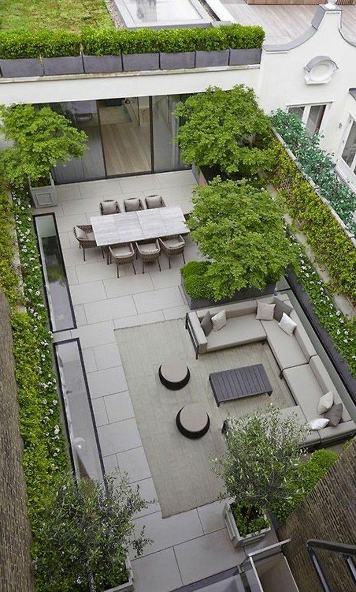 Aménager Une Terrasse - Plus De 50 Idée Pour Vous! | Jardin ... intérieur Terrase De Jardin