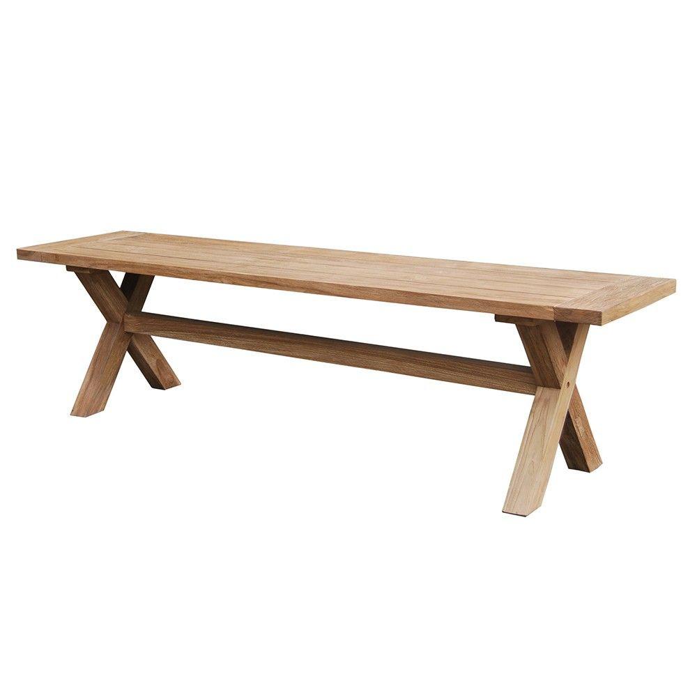 .andalias.de à Table De Jardin En Bois Avec Banc Integre