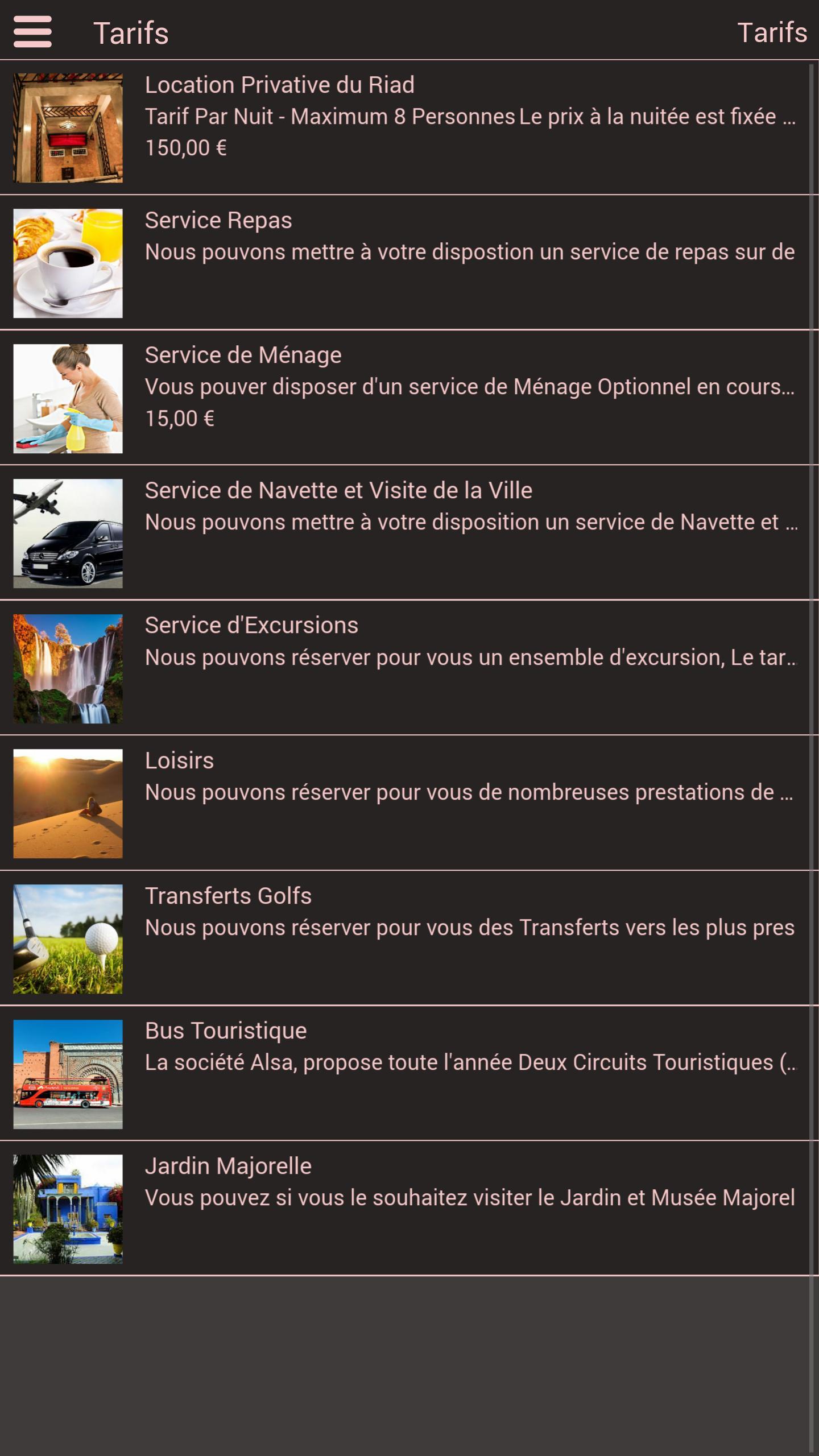 Android Için Riad Darhome Marrakech - Apk'yı İndir destiné Prix Location Jardin