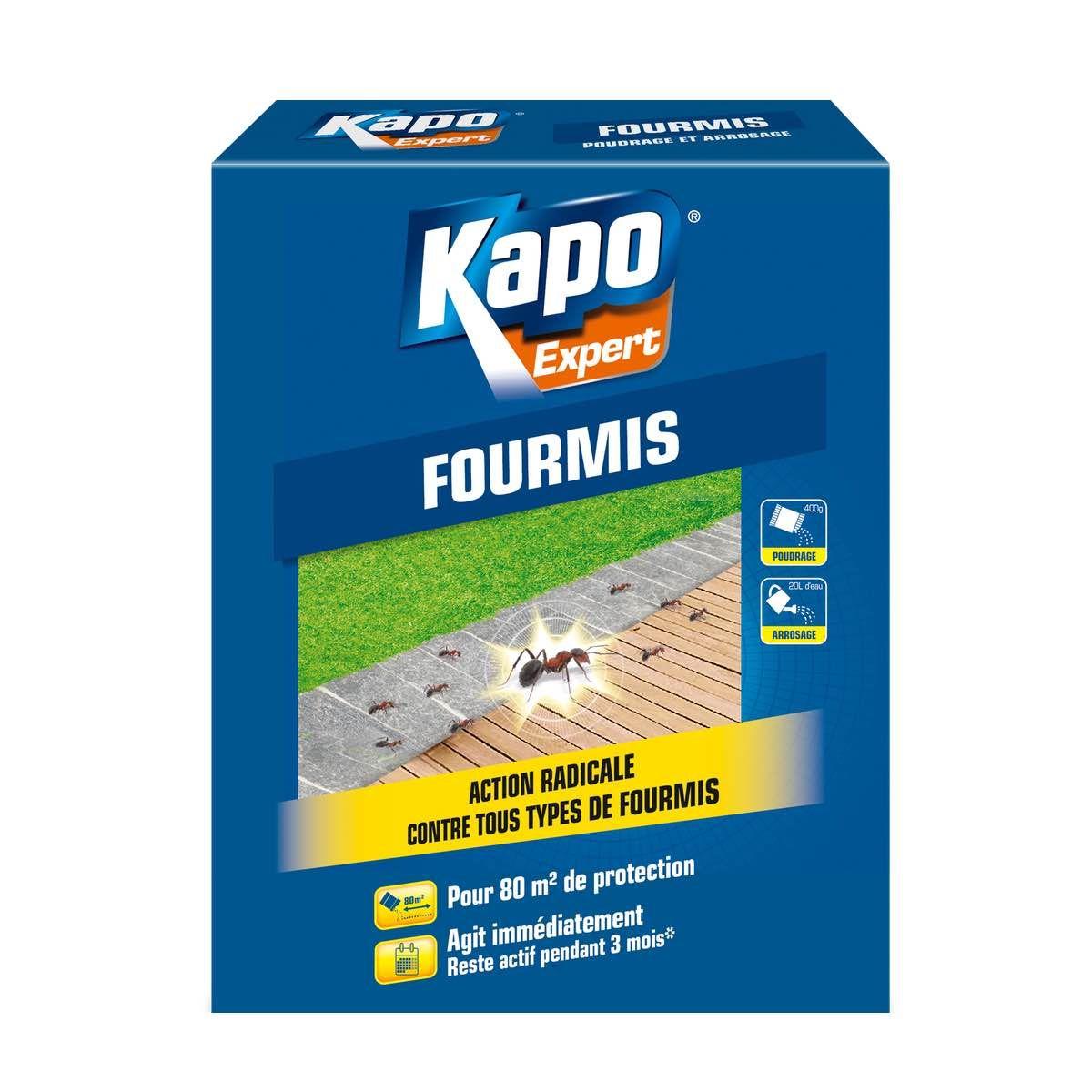 Anti-Fourmis Granulés 400G - Kapo - Univers Brico intérieur Anti Fourmi Jardin