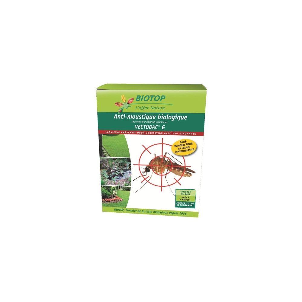 Anti-Moustiques Vectobac G Pour Pelouses Et Lisières Biotop dedans Traitement Moustique Jardin
