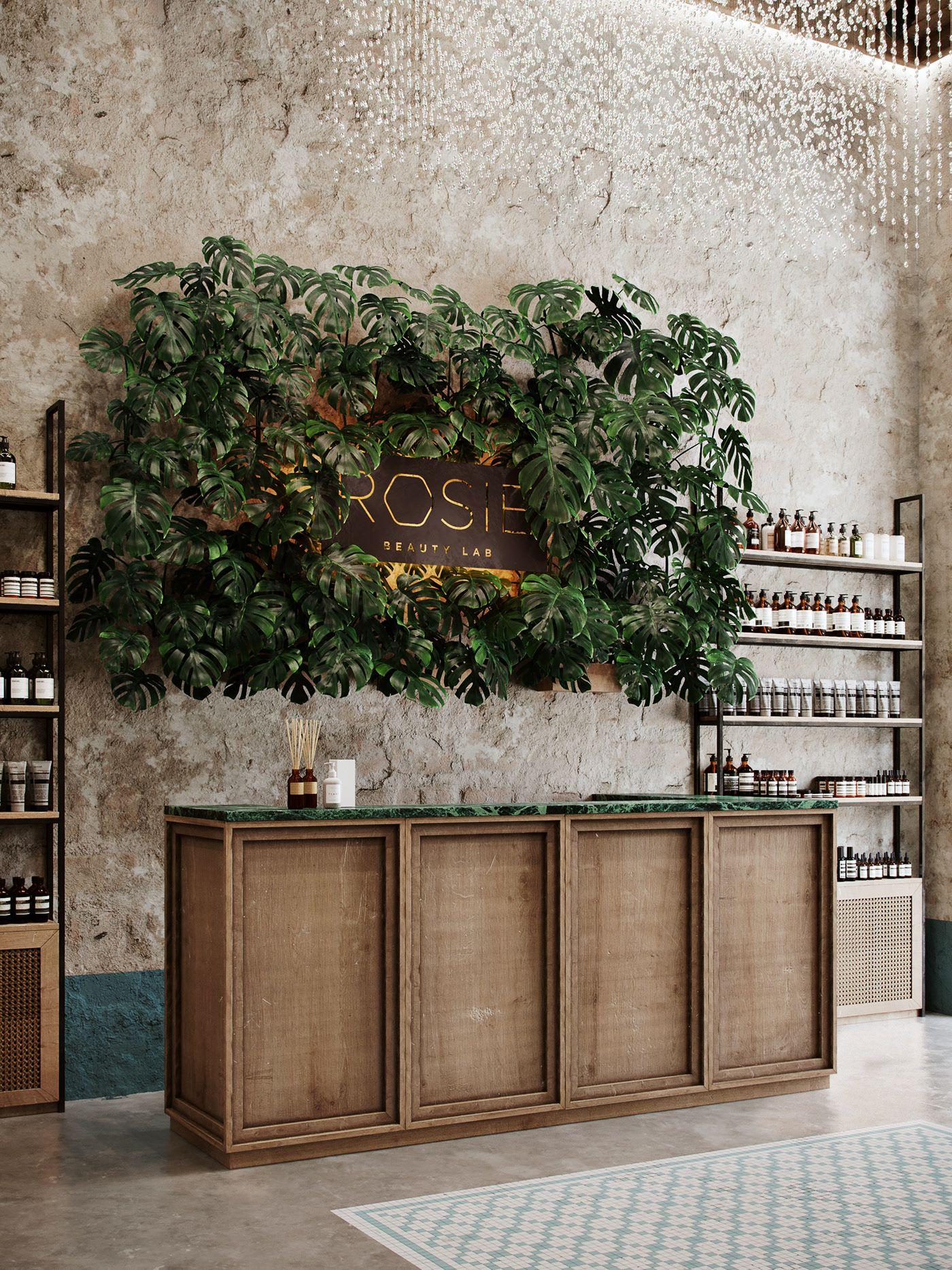 Antiquе̄ On Behance   Дизайн Парикмахерской, Рецепция ... pour Salon De Jardin Corona