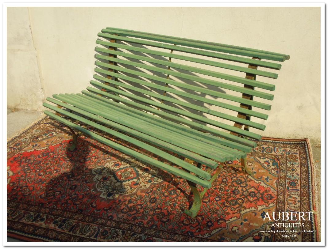 Antiquités Brocante Aubert | Brocanteur Montpellier ... intérieur Salon De Jardin En Fonte Ancien