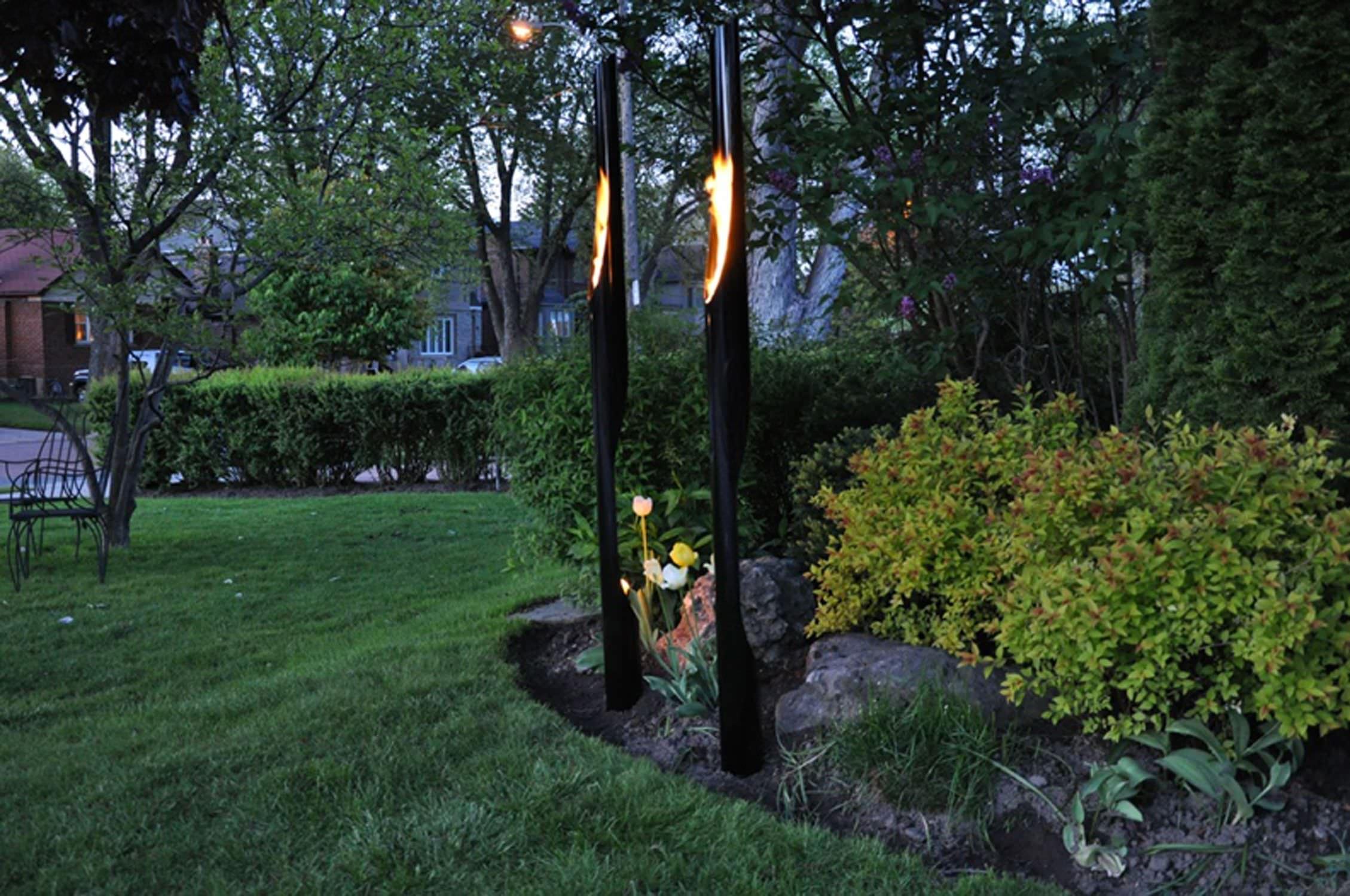 Antorcha De Jardín Absolute Develpro Inc. à Torches De Jardin