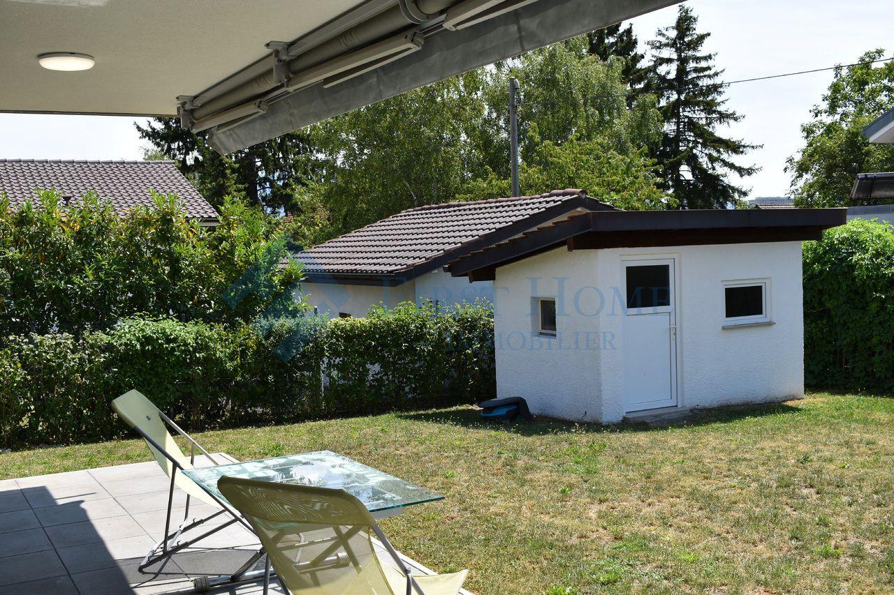 Appartement; À Vendre; Jardin; Rive Droite; Genève; Vernier ... destiné Cabanne De Jardin
