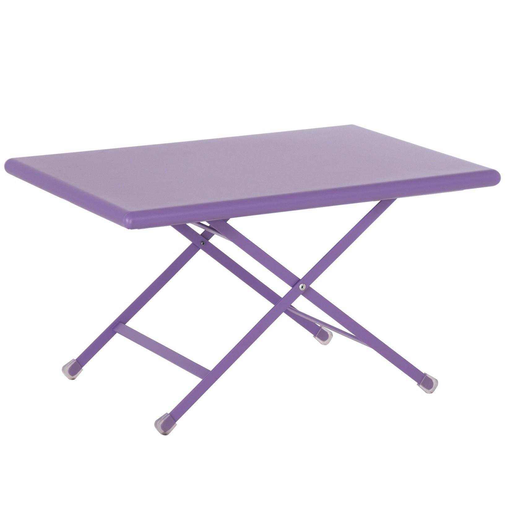 Arc En Ciel Table Basse Pliable à Table Basse De Jardin Pliante