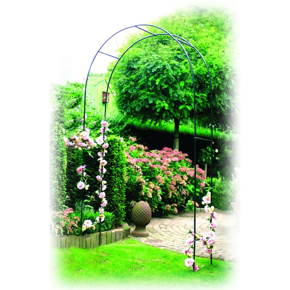 Arche À Rosiers En Acier intérieur Arche De Jardin En Fer